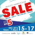 Year End Beauty Warehouse Sale!