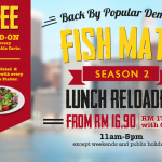 The Manhattan Fish Market Fish Mate Lunch Promo Is Back!