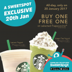 Buy 1 FREE 1 Starbucks Frappuccino Blended Beverages Deals!