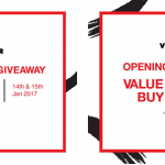 FREE VIOR Shopping Voucher Giveaway!