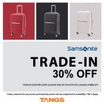 Samsonite Trade-in Program, Discount 30%off Promo!