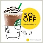 Starbucks Offer 50% discount On Handcrafted Beverage Promo!