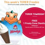 FREE One Wendy's Frosty Cone (vanilla) Ice Cream Giveaway!
