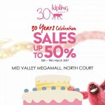 Kipling Special Sales, Discount Up to 50%off Promo!