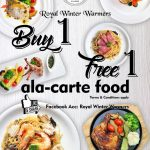 Royal Winter Warmers Offer Buy 1 FREE 1 Promo!