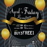 Jogoya Buffet Restaurant April's Friday Promo!