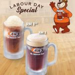 A&W Labour Day Special, RB For Only RM1!