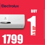 CSH Offer Buy 1 FREE 1 Electrolux Air Conditioner Deal!
