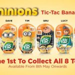 myNEWS 1st Launched Limited Edition Minions Tic Tac Banana!