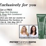 FREE Peter Thomas Roth  Mega Rich Shampoo and Conditioner Giveaway!