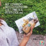 FREE 1 Starbucks Real Potato Stick Giveaway!