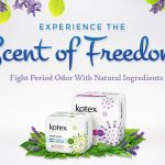 FREE Kotex Odor Care Overnight Wing Lavender and Fresh Liners Regular Unscented Sample Giveaway!