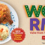 Kenny Rogers New Cheesy Ceria Chicken Lite Meal Special Offer Deal!