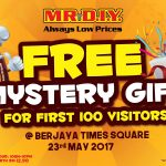 FREE MR DIY Mystery Gift Giveaway!
