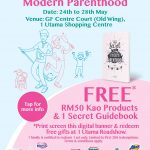 FREE Kao Products worth Rm50 and 1 Secret Guidebook Giveaway!