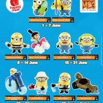 FREE Despicable Me 3 Minion Toys Giveaway!