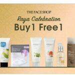 THEFACESHOP Offer Buy 1 FREE 1 Deal!
