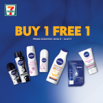 Nivea Offer Buy 1 FREE 1 Deal!