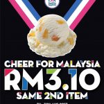 Baskin-Robbins Offer 2nd Scoop Deal! – 冰淇淋优惠促销!