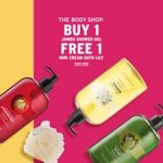 The Body Shop Offer Special Promo! – 优惠买1送1促销!