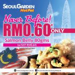 Get 80gsm Salmon Belly For Just RM0.60 Only! – 三文鱼肚皮仅RM0.60而已!