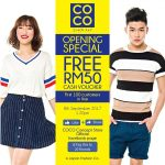 FREE COCO Concept RM50 Cash Voucher Giveaway! – 免费RM50现金券!