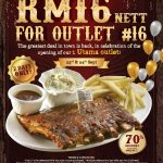 Morganfield's Offer The Greatest Deal!- 一碟一半的排骨仅RM16而已!