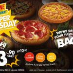 Domino's Malaysia Super Tuesday Promo Is Back! – Domino's超划算比萨,仅RM3.90而已!
