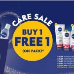 Nivea No 1 World's Skin Care Buy 1 FREE 1 Promo! – Nivea护肤产品买一送一优惠促销!