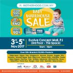 Motherhood.com.my Warehouse Sale 2017,  Daily OMG Deals from RM2 & Free Goodies Bag! – 宝宝产品清仓促销,每日优惠价从RM2起,还送礼袋!