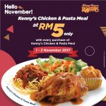 Kenny Rogers ROASTERS November Promo! – 烤鸡十一月优惠促销!