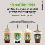 Starbucks Buy 1 FREE 1 Promotion! – 星巴克买一送一促销!