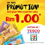 Mighty White offer RM1 Mini Loaf Deal! – 迷你面包RM1优惠!