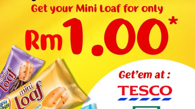Mighty White offer RM1 Mini Loaf Deal! - 迷你面包RM1优惠!