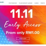 Photobook Malaysia offer 11.11 Flash Sale! – Photobook相册优惠,优惠价低至RM1而已!