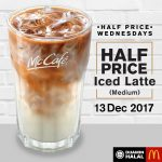 McCafe® Half Price Wednesday deal! – 麦当劳咖啡半价优惠!