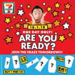 7-Eleven Malaysia Special Crazy Deal! – 7-Eleven疯狂大促销!