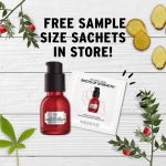 FREE The Body Shop Roots of Strength Serum Sample Giveaway! – 免费护肤样品!