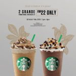 Starbucks Special Offer Grande Size Beverage at RM11! – 星巴克咖啡优惠一杯中等尺寸饮料,仅RM11而已!