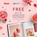 FREE Personalise 6″ x 6″ Hardcover Photobook (worth RM79) Giveaway! – 免费Photobook相册,价值RM79!
