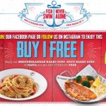 The Manhattan FISH MARKET Buy 1 FREE 1 Deal! – 西餐厅买一送一优惠!
