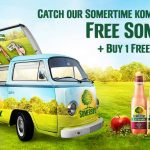 Free Somersby Sample And Buy 1 FREE 1 Vouchers Giveaway! – 免费Somersby苹果酒样品喝,买一送一优惠券!