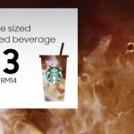 Starbucks ANY Grande Handcrafted Beverage at RM13 Deal! – 星巴克优惠Grande杯咖啡,只需RM13!