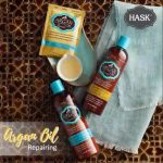 FREE Hask Argan Oil Range Shampoo/ Conditioner Sample Pack Giveaway! –  免费Hask坚果油系列洗发水或护发素样品,寄到家!