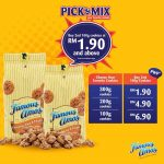 Famous Amos Offer RM1.90 Deal! – Famous Amos饼干优惠价仅从RM1.90起!