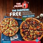 FREE Regular Domino's Pizza Giveaway! – 请你吃免费Domino披萨!