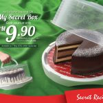 Secret Recipe Special Deal For You! – 蛋糕保鲜盖盒优惠价!