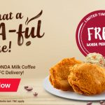 FREE WONDA Milk Coffee Giveaway! – 免费一瓶WONDA咖啡喝!