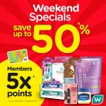 Watsons Malaysia Offer Awesome Weekend Promo! – Watsons周末优惠促销