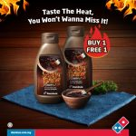 Buy 1 FREE 1 Domino's Ssamjeang Deal! – Domino's 买一送一Ssamjeang酱汁优惠促销!